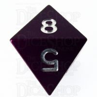 TDSO Aluminium Precision Purple Dragon D8 Dice