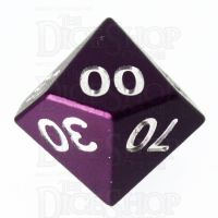 TDSO Aluminium Precision Purple Dragon Percentile Dice