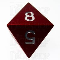 TDSO Aluminium Precision Red Dragon D8 Dice