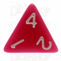 TDSO Opaque Pink D4 Dice
