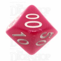 TDSO Opaque Pink Percentile Dice