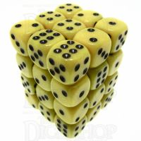 TDSO Opaque Yellow 36 x D6 Dice Set