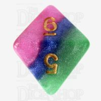 TDSO Layer Jesters Gambit D8 Dice