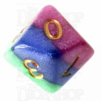 TDSO Layer Jesters Gambit D10 Dice