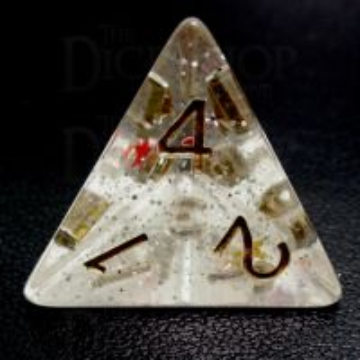 TDSO Confetti Circus Star D4 Dice