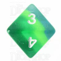 TDSO Layer Transparent Green D8 Dice