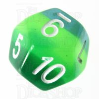 TDSO Layer Transparent Green D12 Dice