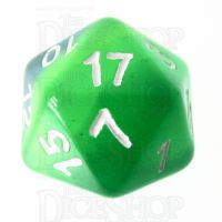 TDSO Layer Transparent Green D20 Dice