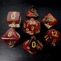 TDSO Particles Vampire 7 Dice Polyset