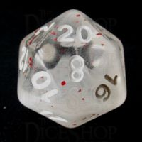 TDSO Particles Swirl Blossom Snowfall D20 Dice