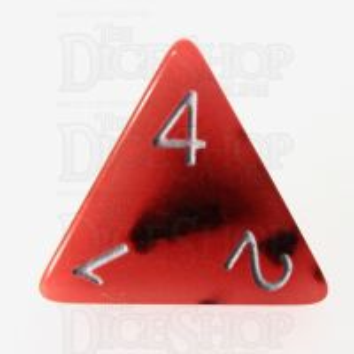 TDSO Duel Lava & Black Glow in the Dark 16mm D4 Dice