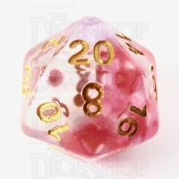 TDSO Pearl Swirl Clematis D20 Dice