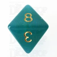 TDSO Moonstone Turquoise D8 Dice