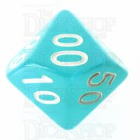 TDSO Moonstone Azure Percentile Dice
