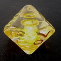 TDSO Encapsulated Flower Yellow Percentile Dice