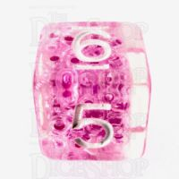 TDSO Sprinkles Beads Pink D6 Dice