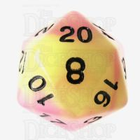 TDSO Duel Purple & Green Glow in the Dark D20 Dice