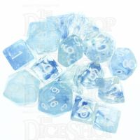 Role 4 Initiative Diffusion Blue Sky 15 Dice Polyset