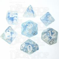 Role 4 Initiative Diffusion Blue Sky 7 Dice Polyset