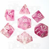 Role 4 Initiative Diffusion Cherry Blossum 7 Dice Polyset