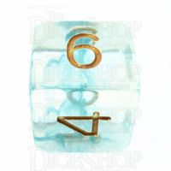 Role 4 Initiative Diffusion Atlantis D6 Dice