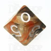 Role 4 Initiative Diffusion Lava Field D10 Dice