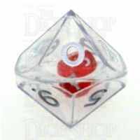 Koplow Clear Double D10 Dice