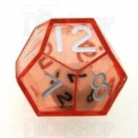 Koplow Red Double D12 Dice