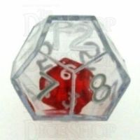 Koplow Clear Double D12 Dice