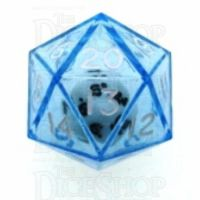 Koplow Blue Double D20 Dice