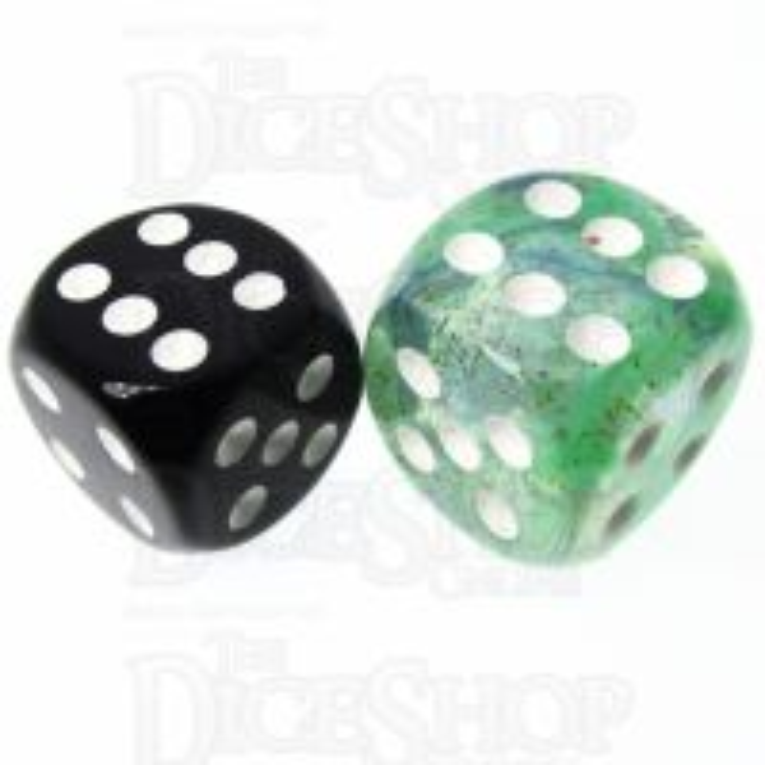 Role 4 Initiative Diffusion Neptunes Treasure 18mm D6 Spot Dice
