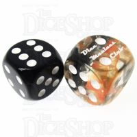 Role 4 Initiative Diffusion Lava Field DMC 18mm D6 Spot Dice
