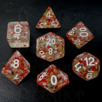 TDSO Reggae Roller 7 Dice Polyset FABULOUS FIFTY