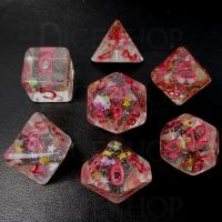 TDSO Lucky In Love 7 Dice Polyset FABULOUS FIFTY