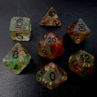 TDSO Elven Fury - Warrior 7 Dice Polyset FABULOUS FIFTY