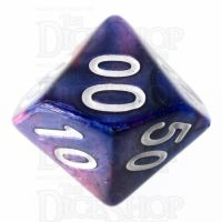 TDSO Duel Pink & Purple Percentile Dice