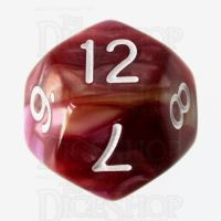 TDSO Trio Gold Pink & Purple D12 Dice