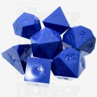 GameScience Opaque Azure Blue 7 Dice Polyset