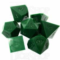 GameScience Opaque Spruce Green 7 Dice Polyset