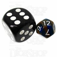 TDSO Duel Blue & Gold MINI 10mm D12 Dice