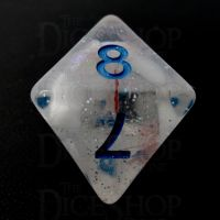 TDSO Metallic Flakes Winter Storm D8 Dice