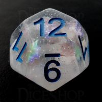 TDSO Metallic Flakes Winter Storm D12 Dice