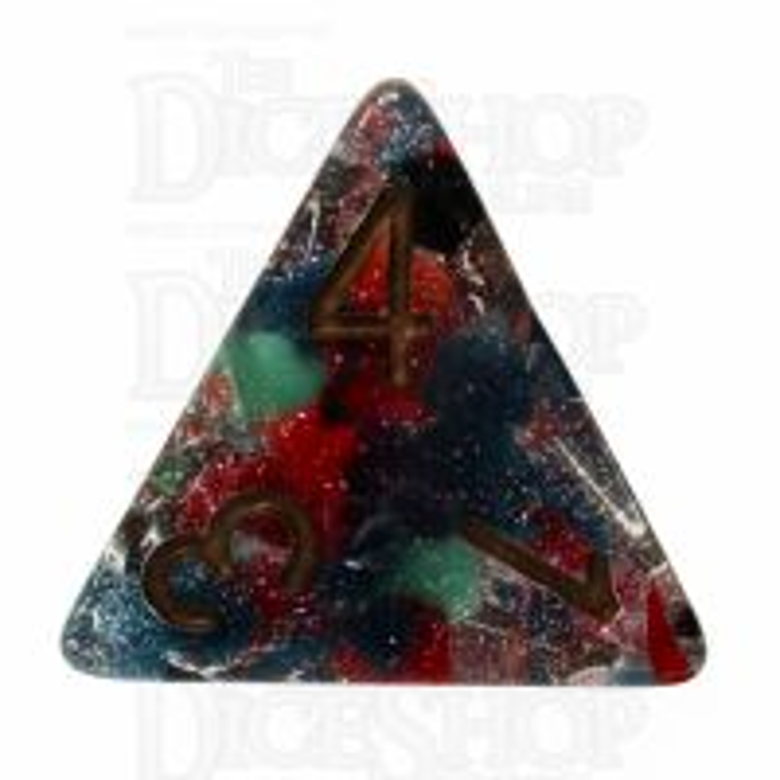 TDSO Regenerate Copper D4 Dice