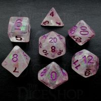 TDSO Magical Memory 7 Dice Polyset FABULOUS FIFTY