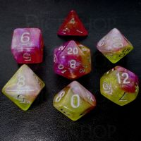 TDSO Sorcerers Choice 7 Dice Polyset FABULOUS FIFTY