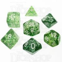TDSO Glitter Green 7 Dice Polyset