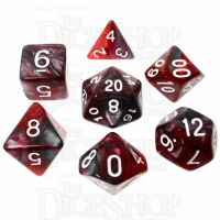 TDSO Dragons Blood 7 Dice Polyset FABULOUS FIFTY