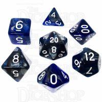 TDSO Cold Iron 7 Dice Polyset FABULOUS FIFTY
