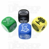 CLEARANCE The Lord of the Rings: Journey to Mordor Dice x4