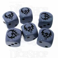 CLEARANCE Hordes Legion of Everblight 14mm 6 x D6 Dice Set OOP